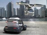 خودرو پرنده مفهومی در نمایشگاه ژنو رونمایی شد