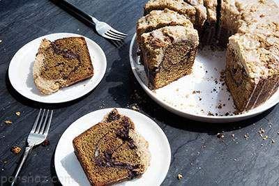 باهم کیک دارچین و قهوه خوشمزه درست کنیم