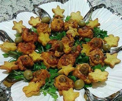 طرز تهیه رول مرغ و سبزیجات خوشمزه و عالی
