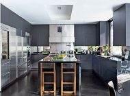 مدل های دکوراسیون آشپزخانه با تم رنگ مشکی