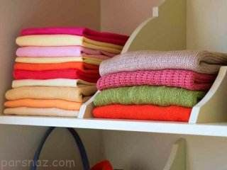 جمع کردن لباس های زمستانی در اسفندماه