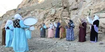 آشنایی با مراسم مرزه وان در کردستان
