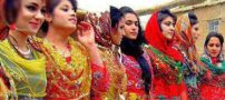 رقص و شادی دختران کرد در مراسم شعله های آتش