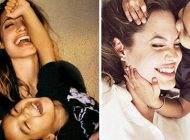 آنجلینا جولی و نگاه مادرانه مثال زدنی به فرزندانش
