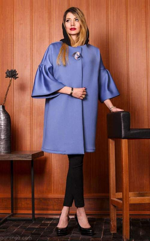 انواع مدل های مانتو ایرانی شیک از برند دوک 96