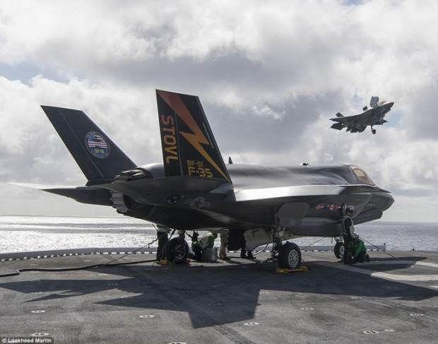 جنگنده اف 35 فراتر از حد تصور عمل می کند