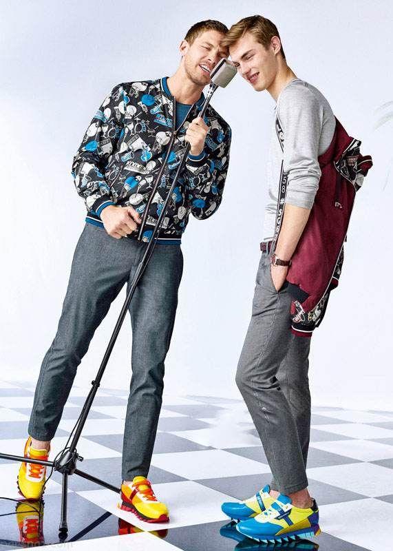 مدل های جدید لباس مردانه برند Dolce Gabbana