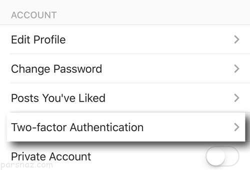 آموزش ثبت هویت دومرحله ای در اینستاگرام