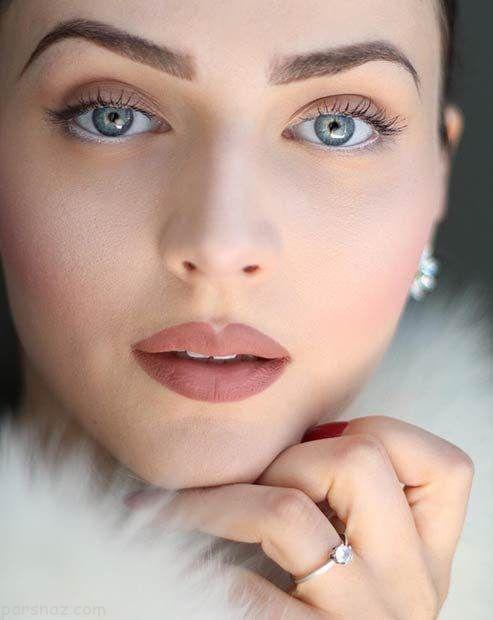 آرایش صورت ملایم مناسب برای طول روز