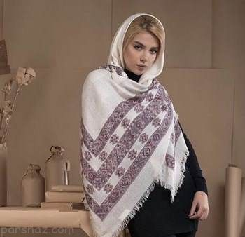 مدل های جدید شال و روسری زنانه 97 - 2018