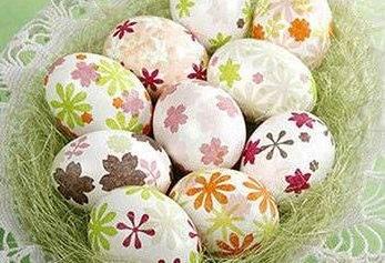 ایده های رنگ و تزیین تخم مرغ برای سفره هفت سین