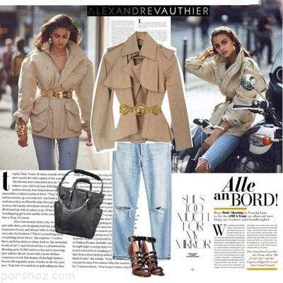 تیپ و استایل جذاب به سبک تیلور هیل سوپر مدل مشهور