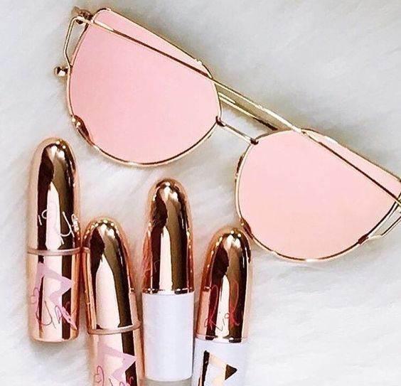 مدل های عینک زنانه زیبا مد سال 2017 انواع مدل های عینک آفتابی rosegold