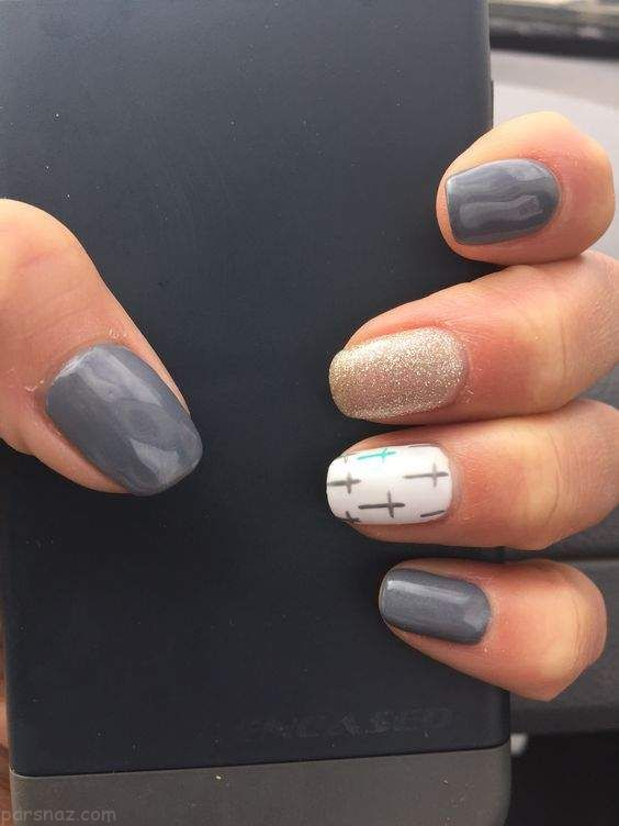 مدل طراحی ناخن لاکچری 2018