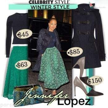 جذاب ترین مدل های لباس به سبک جنیفر لوپز