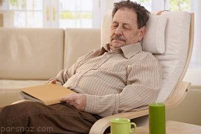 احساس خستگی در افراد سالمند و راه درمان آن