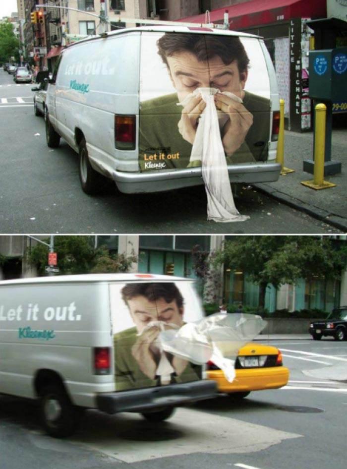 نمونه های تبلیغات هوشمندانه و بسیار جالب