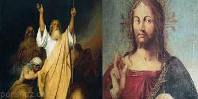 ریشه مثل عیسی به دین خود موسی به دین خود