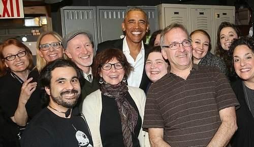 خوش گذرانی اوباما و دخترش در نیویورک