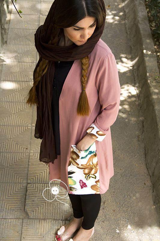 مدل مانتو ایرانی عید نوروز 98 شیک و جدید