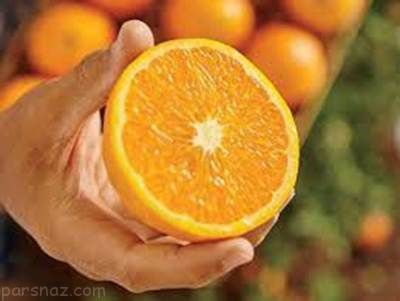 جوان سازی پوست مردها با استفاده از پرتقال