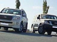 مقایسه خودروهای نیسان پاترول و لندکروز