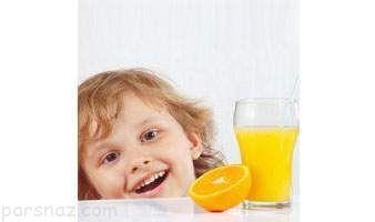 درباره ضرورت مصرف آب میوه در کودکان