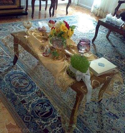 تزیینات زیبا و بی نظیر سفره هفت سین ایرانی