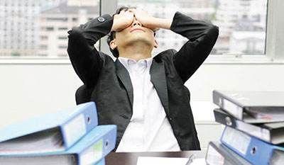 استرس در محیط کار حسی برای عدم پیشرفت