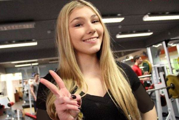 قوی ترین دختر خوش اندام روسیه در سوریه