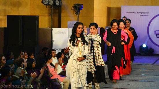 فشن شوی دختران قربانی اسیدپاشی برگزار شد
