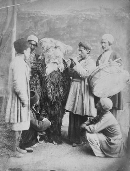 عکس های دیدنی نوروز ایران در دوران قاجاریه