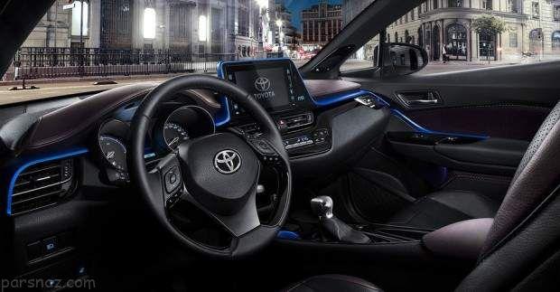 خودرو تویوتا C-HR بزودی در ایران عرضه خواهد شد