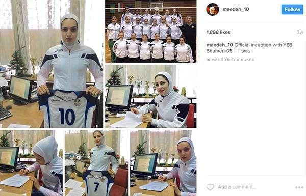 دختران لژیونر والیبالیست ایران در بلغارستان