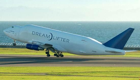 نمونه های جالب و عجیب در هواپیمای بوئینگ 747