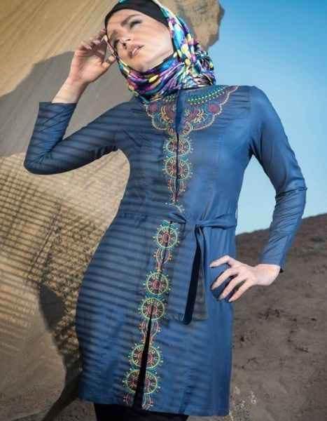 مدل های جدید مانتو بهاره شیک عید نوروز 96