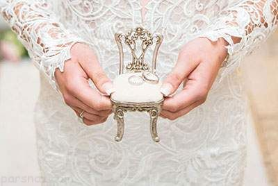 زیباترین مدل های تزیین جای حلقه ازدواج شیک