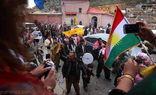 دختران زیبا در مراسم نوروز کردستان عراق