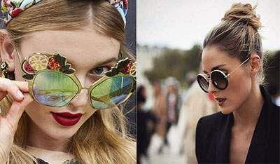 مدل های جدید عینک زنانه بهار 2017