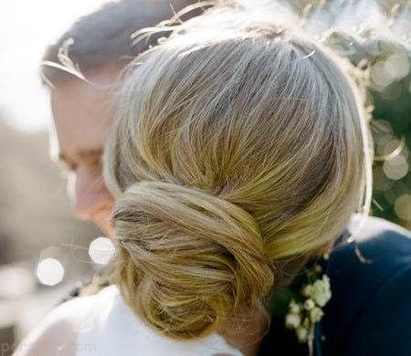 مدل موی عروس ساده و شیک 96 -2017