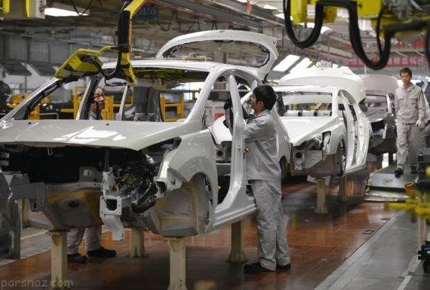رتبه اول رشد تولید خودرو ایران در جهان