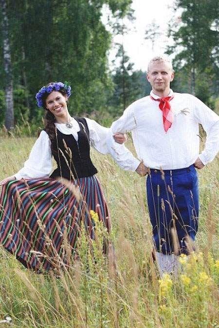 لباس عروس و داماد سنتی در ملت های مختلف