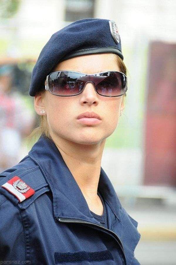 زنان جذاب نیروی پلیس در کشورهای دنیا