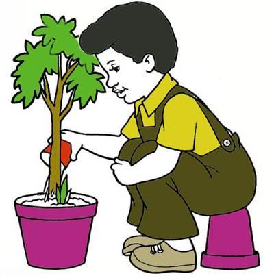 نقاشی های زیبای کودکانه برای روز درختکاری