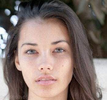 عکس زیباترین دختران مدل جهان بدون آرایش