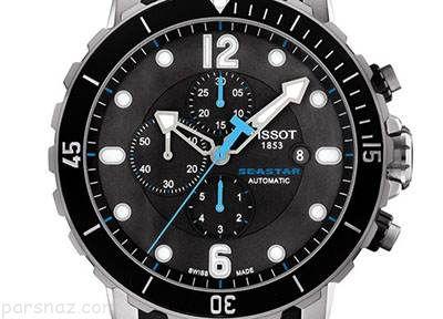 انواع مدل های ساعت مچی مردانه مخصوص غواصی