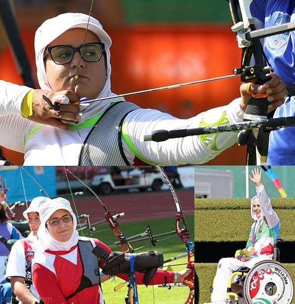 نگاهی به برترین ورزشکاران زن ایرانی در سال 95