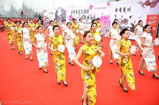 کارهای جالب دختران چینی در 8 مارس روز زن