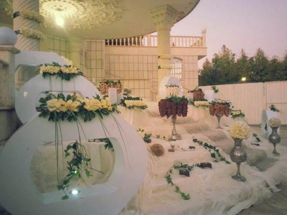 انواع مدل های تزیین سفره عقد ایرانی زیبا