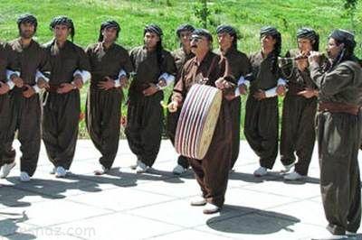 رسم و رسومات مردم کردستان در عید نوروز